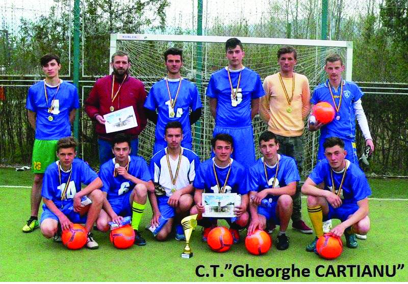 campionii de la cartianu