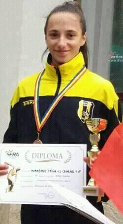 Irina Bordeanu, atletism